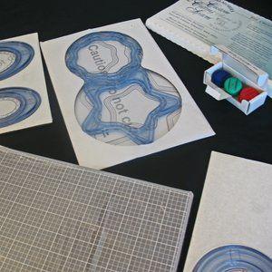 Creative Memories Custom Cutting, mat blades